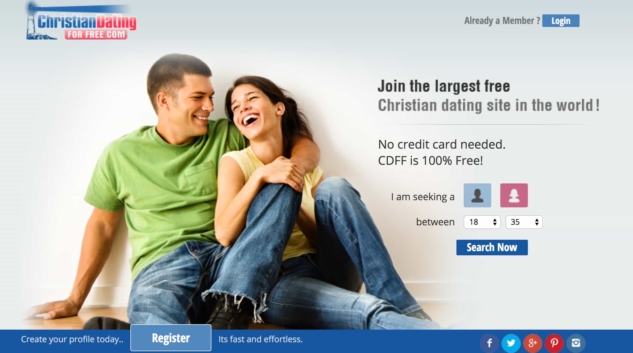 christian dating for free review