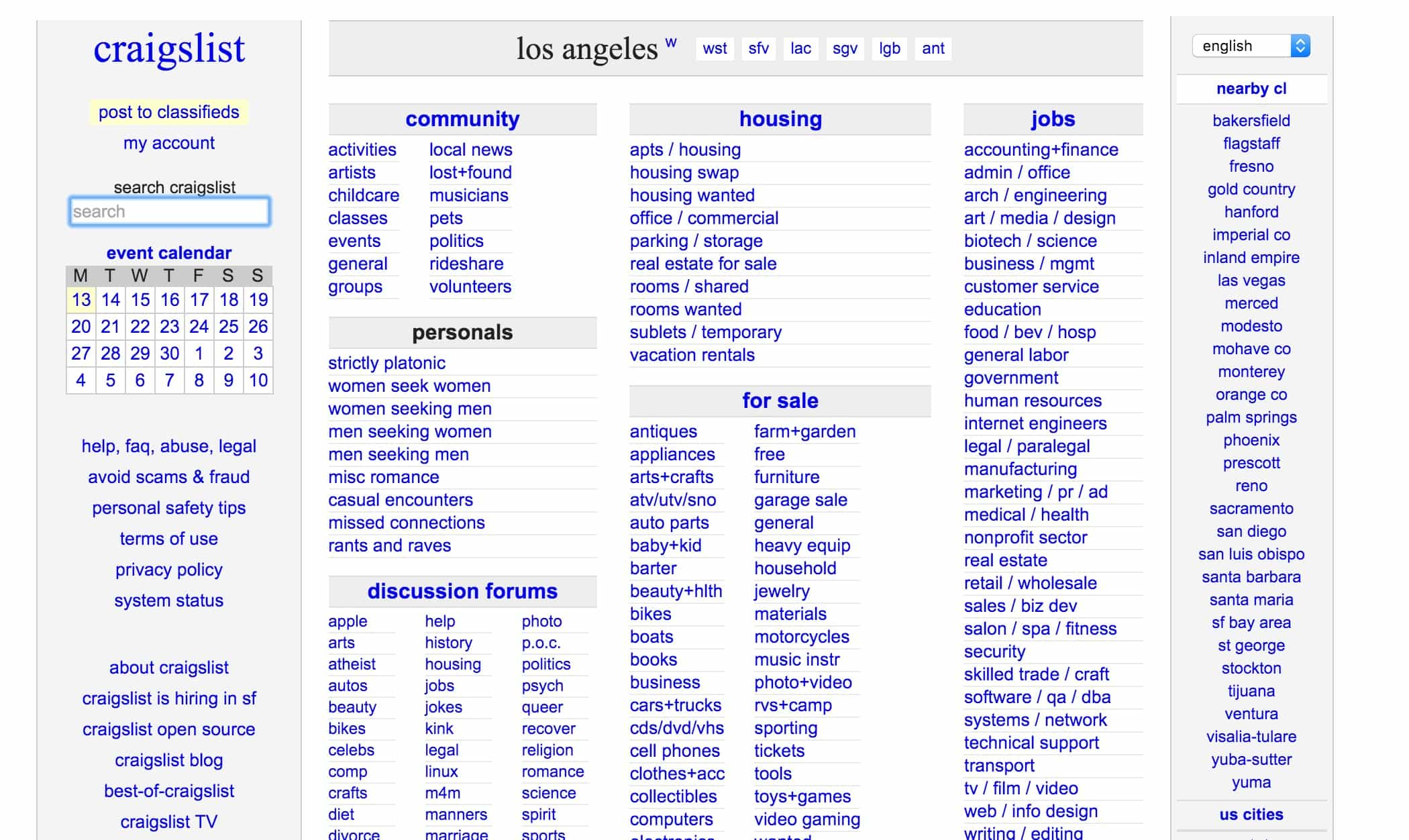 dating websites like craigslist This is a partial, non-exhaustive list of online dating websites contents [hide] 1 online dating mamba, social-network-like dating site, primarily cis/former soviet union, but some international presence primary language is russian, but all.