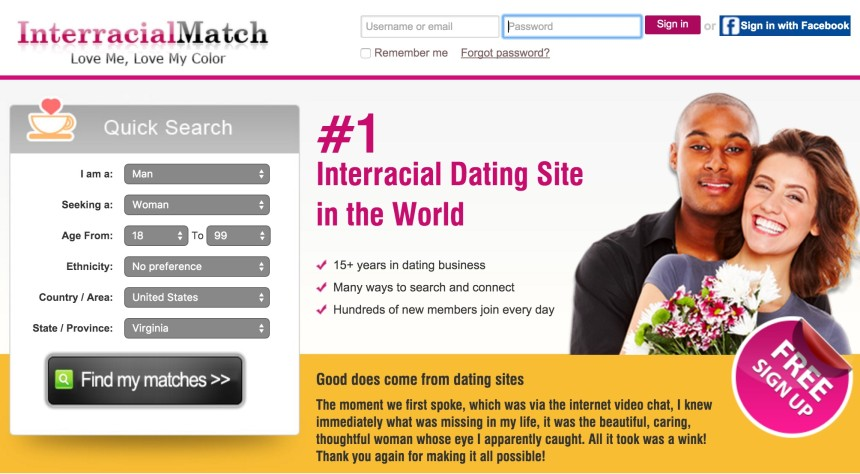 interracial match review