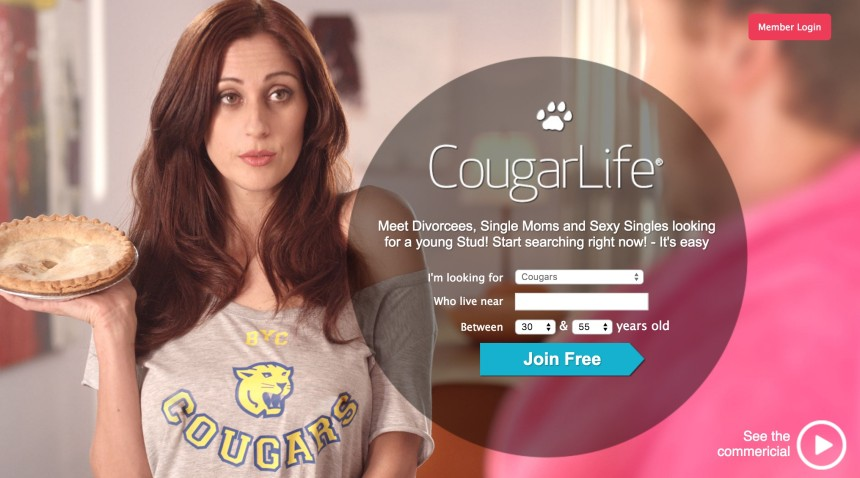 Top 5 cougar dating sites
