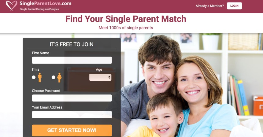 Single parents dating website
