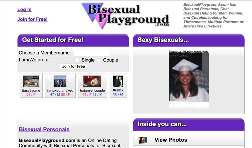 bisexual play ground review